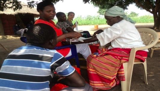 Blood Screening in Palema Parish
