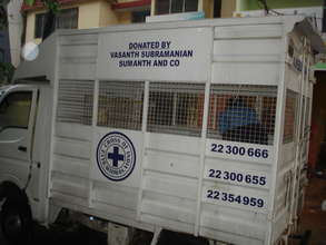 Blue Cross of India Ambulance