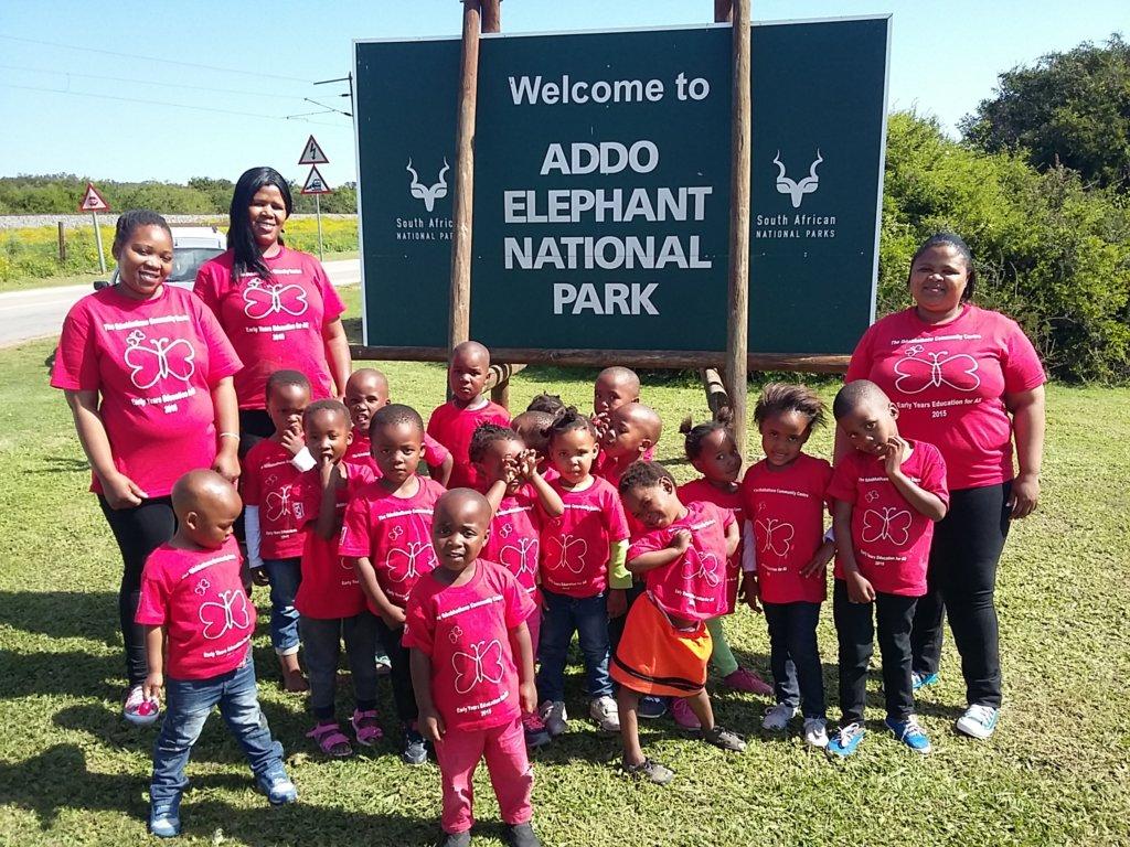 Visiting Addo National Elephant Park