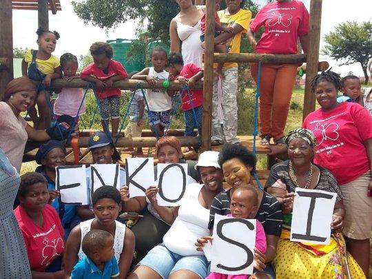Enkosi - We say thank you!