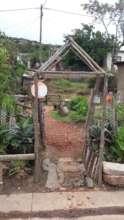 No income, but determine to make a pretty garden
