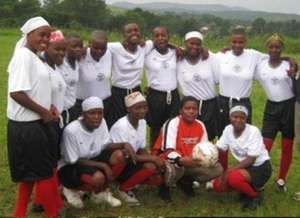 COBURWAS Girls soccer team