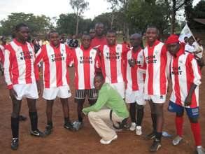 COBURWAS Boys soccer team