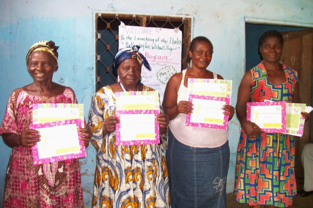 Pig Rearing Project for Widows in Cameroon
