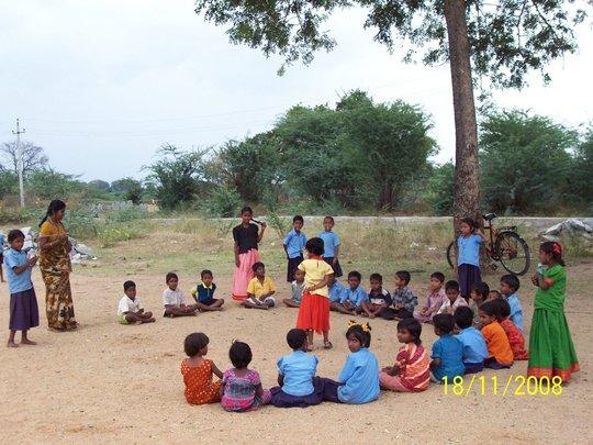 Govt school, Yadgiri, Karnataka