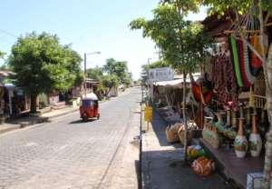 San Juan de Oriente main street