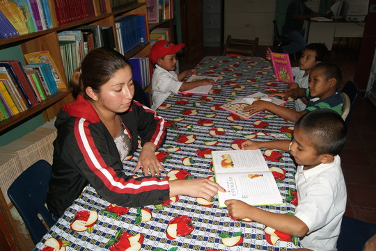 Reading comprehension activities in Quebrada Honda
