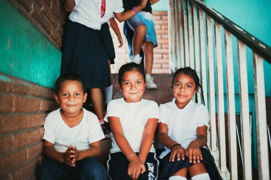 Primary students in Esteli