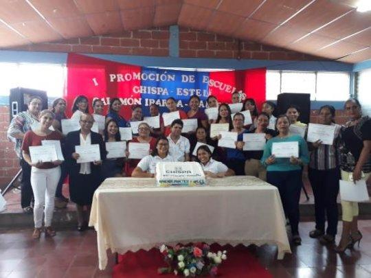 Teacher training in Esteli.