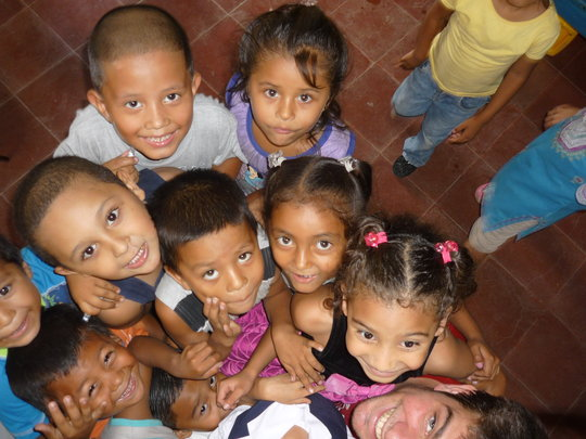 1st graders in Cusmapa
