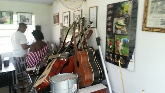 Quilombo music room