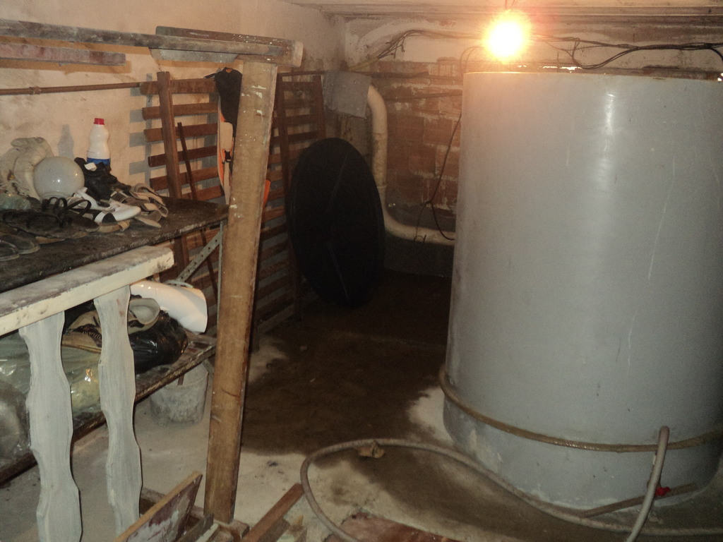 Biodigester in the basement