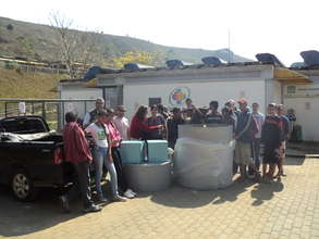 IDDEIA provide a Biodigester for students