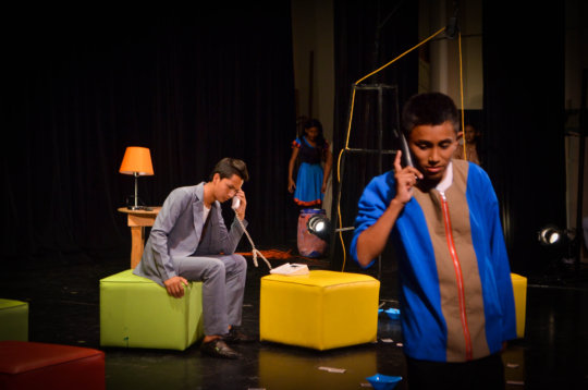 Theatre Performance by Compartir Students