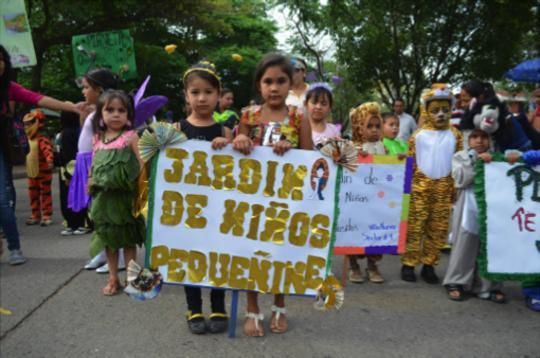Group Photo: Cultural Festival in Honduras