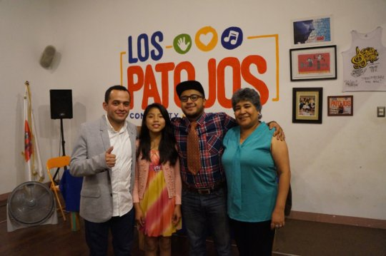 Rafa, 6th Grader at Los Patojos, Juan Pablo & Vero