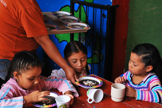 Children's Community Kitchen Jocotenango Guatemala