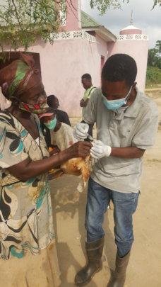Community vaccination.