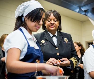 US Surgeon General visits classes