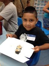 Gus Makes Some Sushi at the Shedd Aquarium!