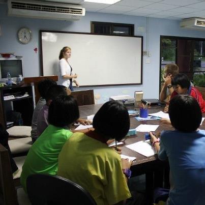 Teacher Sarah Teaches English and Brings Hope.