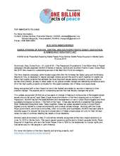 Press Release - 2015 Best Non-Profit Act - ASANA (PDF)