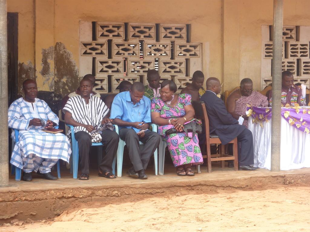 Local Dignitaries at Ribbon Cutting Ceremony