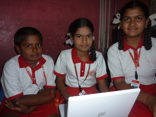 Setup 175 computers-5 schools-3000 students India