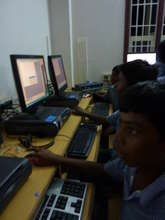 Indian students working in TSC Lab installed 2010