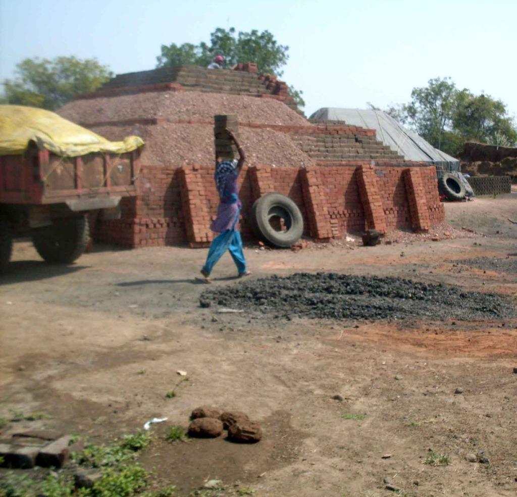 Established furnace at Geeta