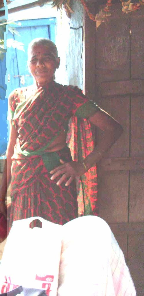 An ardent anti-liquor campaigner for her village