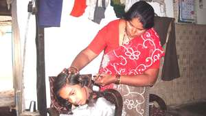 Padma Raut from village Manikwada