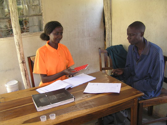 build a laboratory for300 zambian HIV/AIDS patient