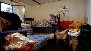 Uno de los cuartos (one of the bedrooms)
