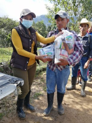 providing life saving supplies