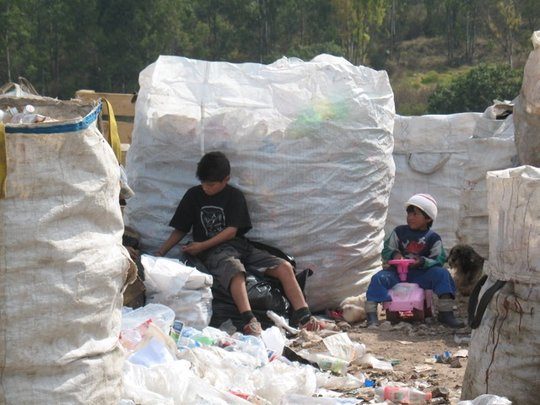 Children Working At Tultitlan Dump