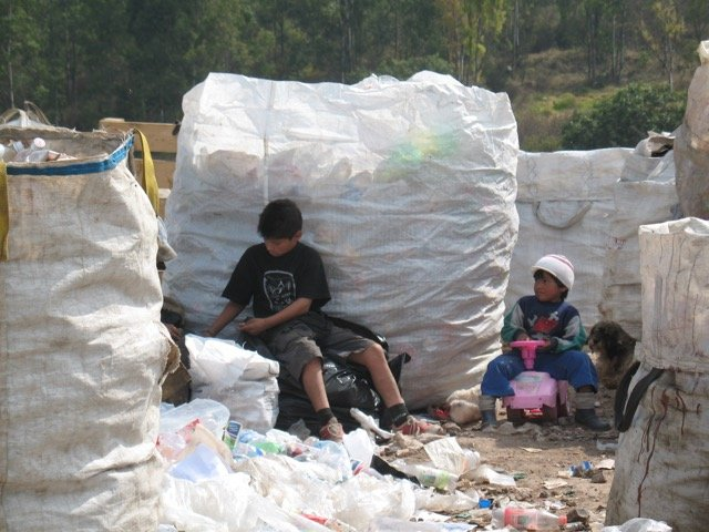 Children Working At Tultitlan Dump