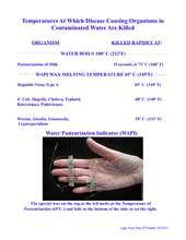 Water Pasteurization Indicator (WAPI) (PDF)
