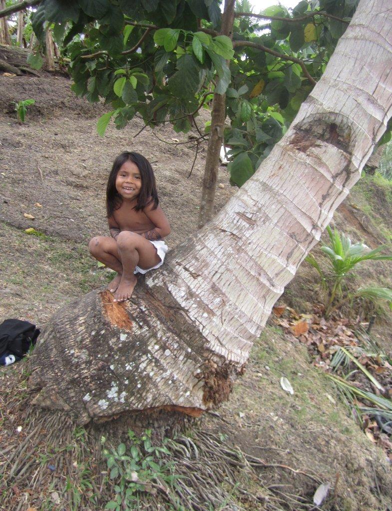 Wounaan Girl