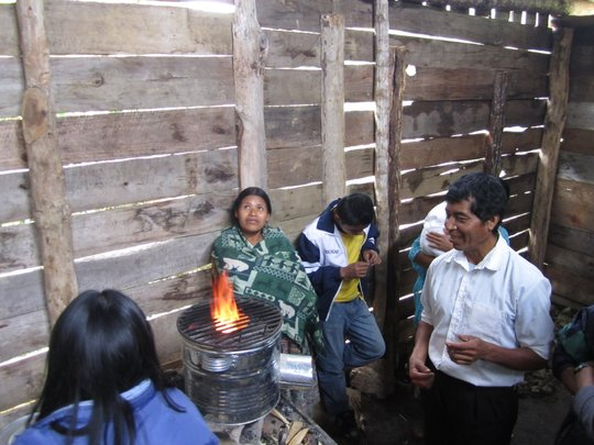 Rocket Stoves in Guatemala