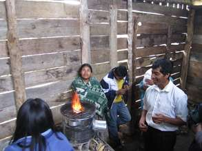 Rocket Stoves in Guatemala