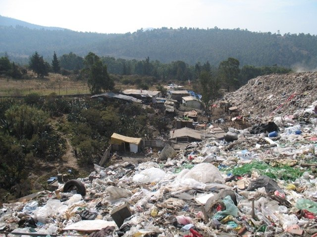 Garbage Dump At Tultitlan And Families Homes