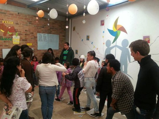 Activities in Pintando Caminos