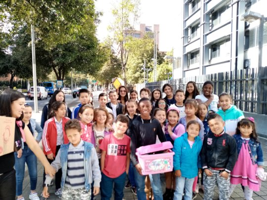 Better life than war and poverty for Bogota youth