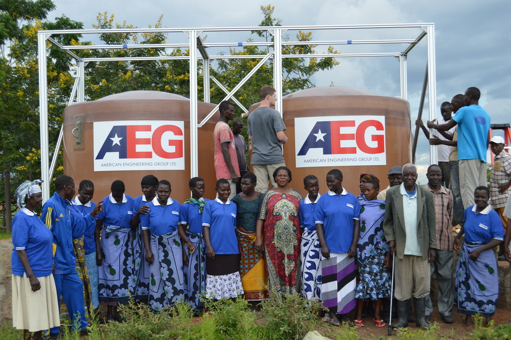 Women who will be overseeing Water project