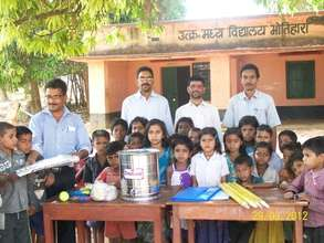 Play & Learning Materials Distribution to Schools