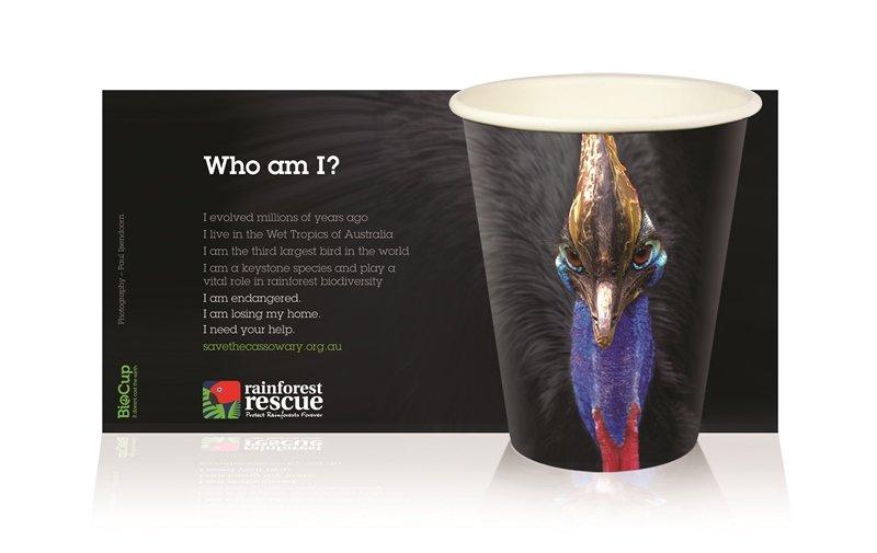New art cup from business partner BioPak