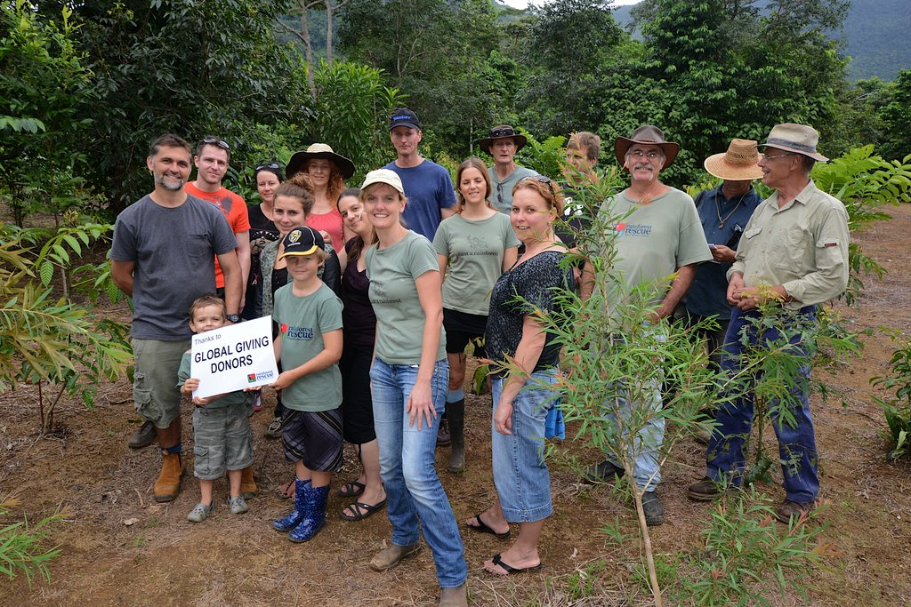 Thanks from all of us at Rainforest Rescue