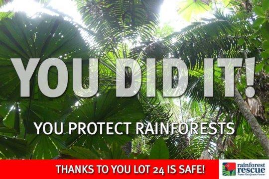 Lot 24 Cape Tribulation Road is Safe Forever