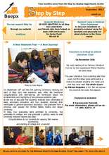 Step Up newsletter - September 2013 (PDF)